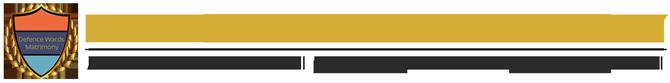 DefenceWardsMatrimony Logo